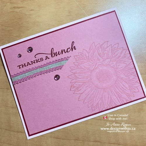 How to Step up a Quick and Easy Handmade Card