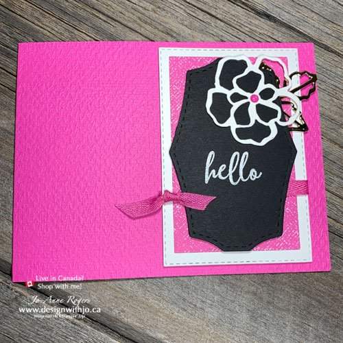 Using Flower Dies for Handmade Greeting Cards Makes a BOLD Statement